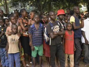 counseling for former child soldiers, charity gifts