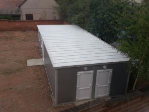 community latrine, charity gifts